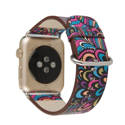 Chinese Style Pattern Smart Watch Band for 38mm/42mm Apple iWatch Smartwatch Tech