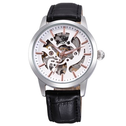 Luminous Hollow Out Quartz Alloy Glass Men's Watches