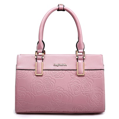 Occident Style Floral Embossing Tote Bag