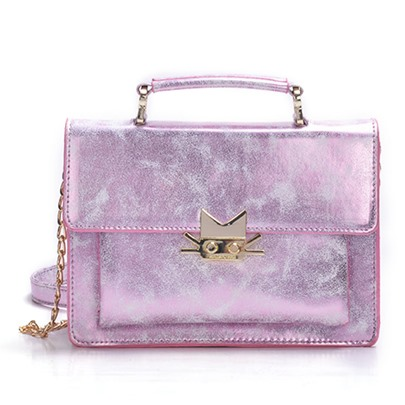 Vogue Mirror Plate Cross Body Bag