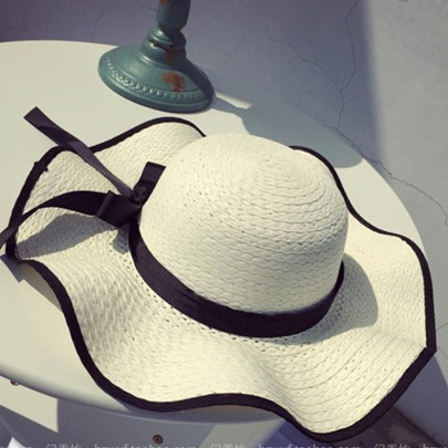 Wave Falbala Palm Beach Sun Hat