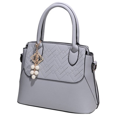 Graceful Floral Embossing Women Tote Bag