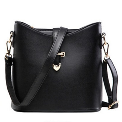 Korean Style Bucket Cross Body Bag