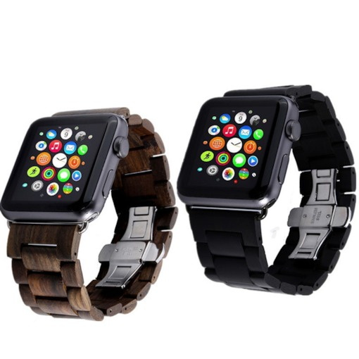 correa de reloj de madera para Apple iwatch serie 2 38mm / 42mm