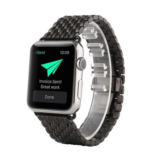 Stainless Steel Smart Watch Band for 38mm/42mm Apple iWatch Smartwatch Tech