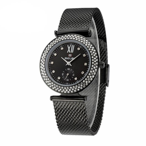 Fashion Round Dial Water Resistant Analogue Display Watches