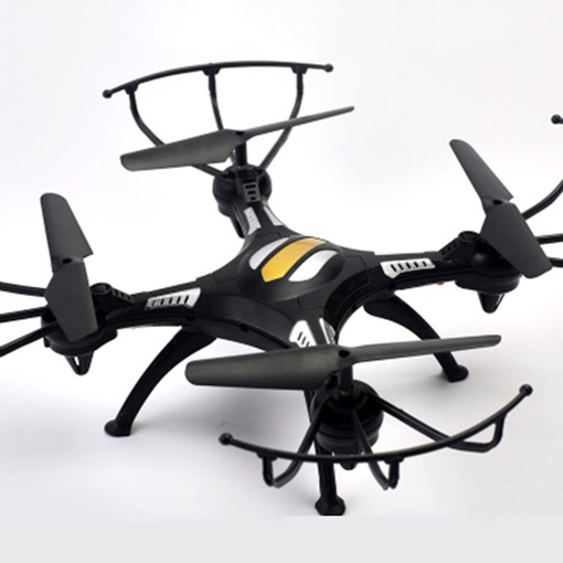 Drone Quadcopter Black and White Cool Toy Remote