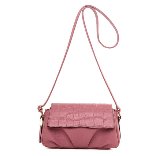 All Match Croco-Embossed Cross Body Bag