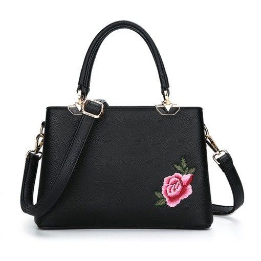National Style Embroidery Tote Bag