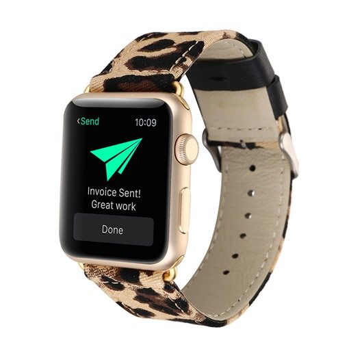 Leopard Pattern Apple Watch Band for iWatch Series 3/2/1