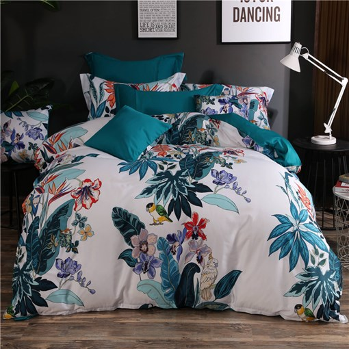 Plant Floral Bird Nature 4-Piece Bedding Sets/Duvet Covers