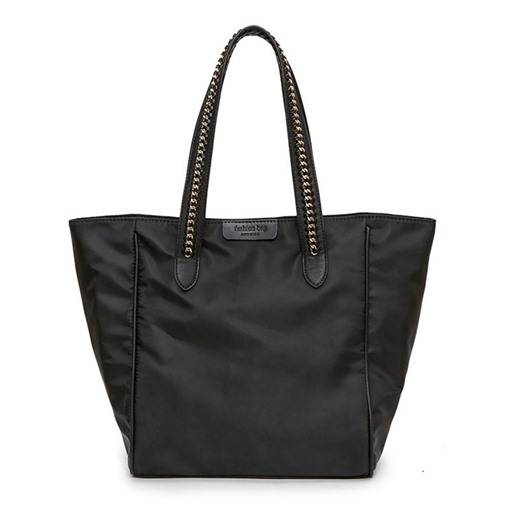 All Match Zipper Adornment Tote Bag