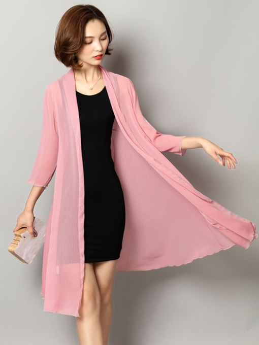 Mid-Length Loose Women's Trench Coat