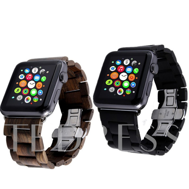 Wooden Watch Band for Apple iWatch Series 2 38mm/42mm