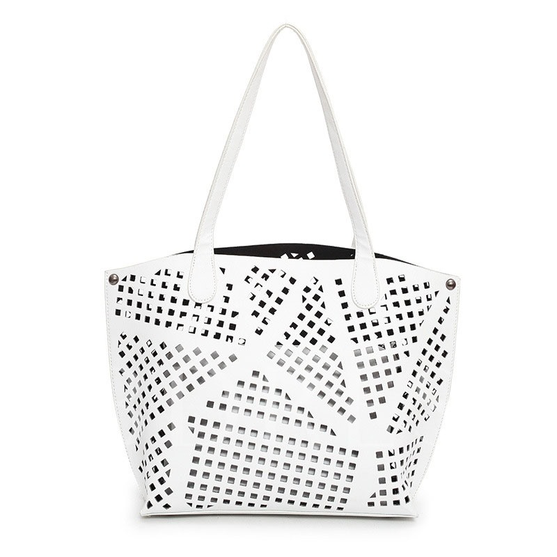 Trendy Hollow-out Design 2 Pieces of Bag Sets