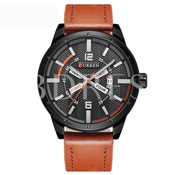 Calendar Display Unique Quartz Sports Men's Watches