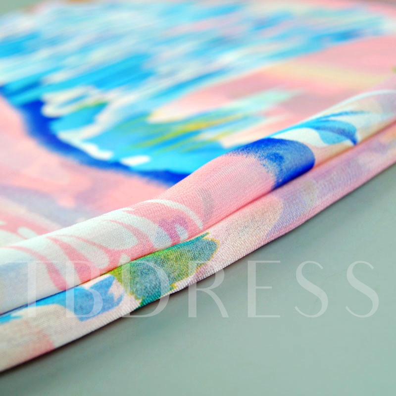 Colorful Thin Georgette Rural Style Scarfs