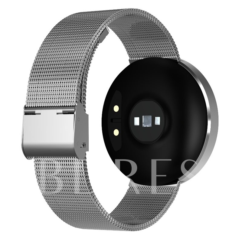 UNIK2 Smart Watch Activity Monitor Smartwatch with Steel Bracelet for iPhone Android