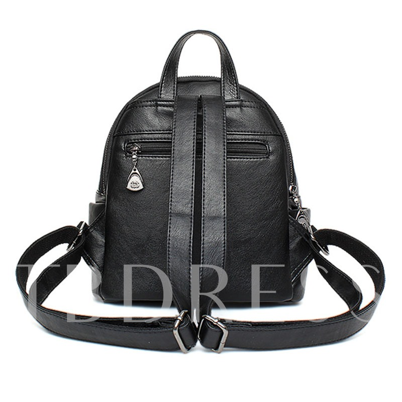 Lovely Pendant Zippers Decoration Backpack