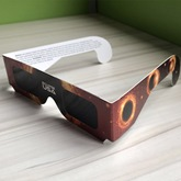 Galaxy Planet Design General Solar Eclipse Glasses(Only White Color)