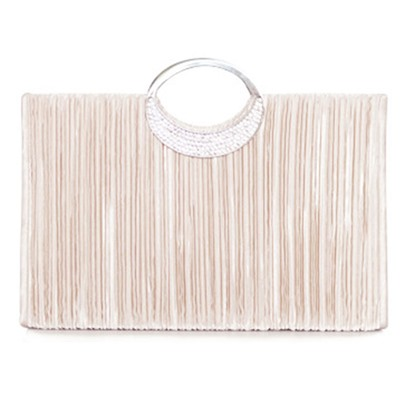 Graceful Square Shape Evening Clutch