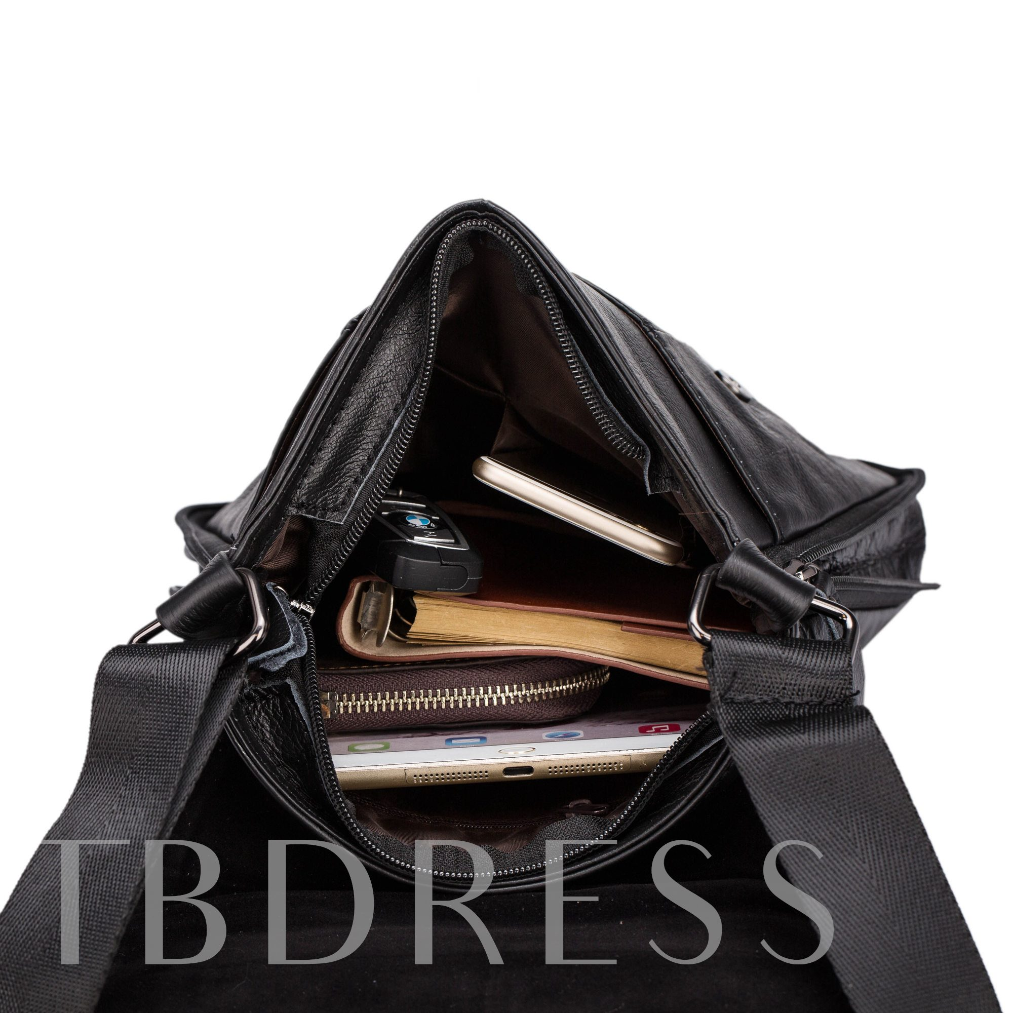 Casual Business Leather Men's Shoulder Bags