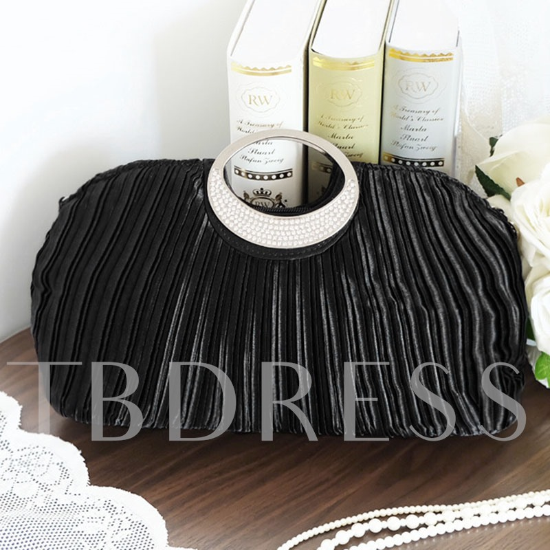 Concise Shell Shape Evening Clutch