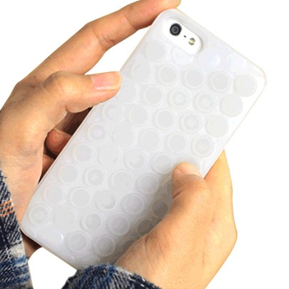 Pop Funny Case for iPhone 8/8 Plus/7/7Plus Puchi Puchi Unlimited Bubbles Shell