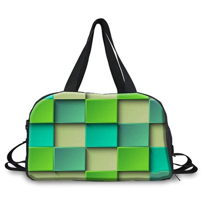 Particular Geometric Color Block Women Tote
