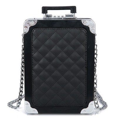 Personality Pattern Vertical Cross Body Bag
