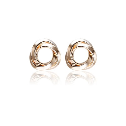 Annulus Shaped Creative Alloy European Earrings