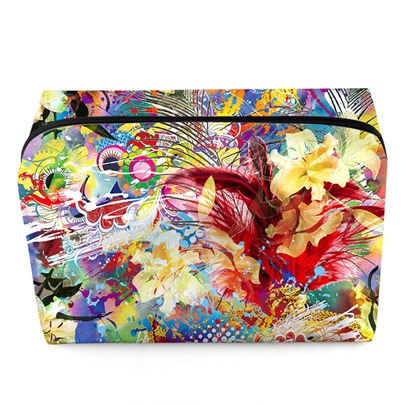 Fashion Floral Printing Cosmetic Bag