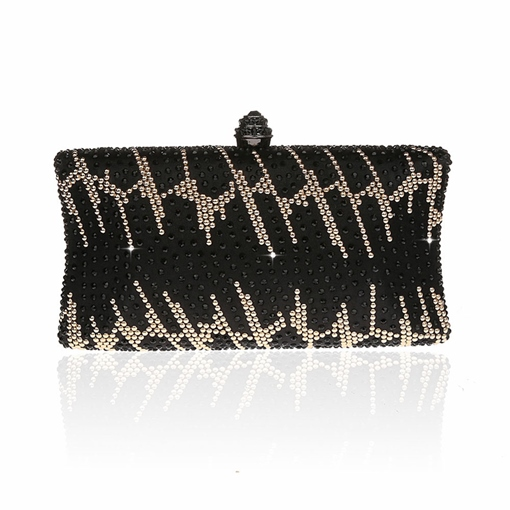 Retro Exquisite Rhinestone Evening Clutch