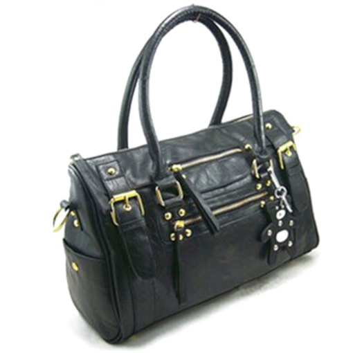 Ladylike Zipper Design Women Tote