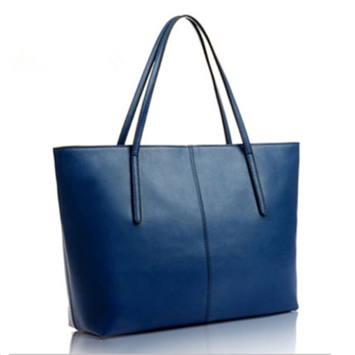 Contracted Solid Color PU Tote