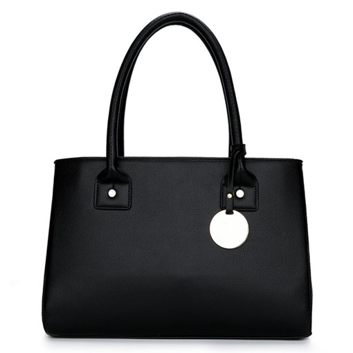 Concise Solid Color Women Tote Bag