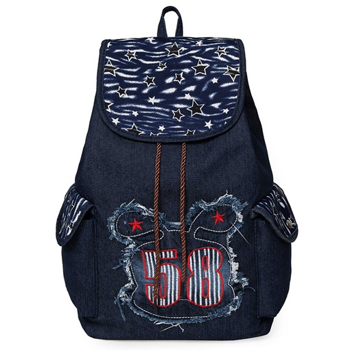 Concise Letter Design Oxford Backpack