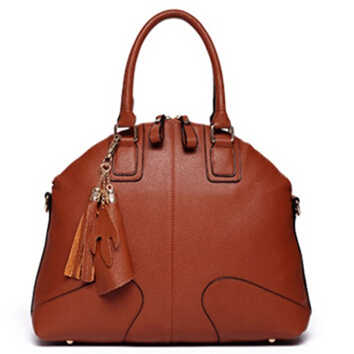 Shell Shape Solid Color Women Tote