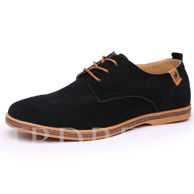 Buy Round Toe Flat Heel Cross Strap Cross Strap Men's Oxfords, Spring,Summer,Fall, 12139237 for $33.95 in TBDress store