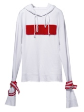 Tight Detail Drawstring Women's Hoodie