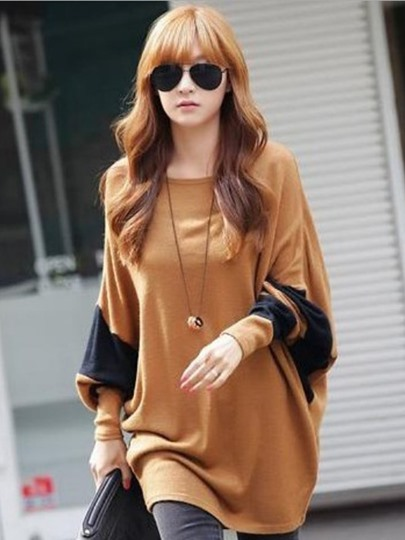Irregular Lantern Sleeve Women's T-Shirt