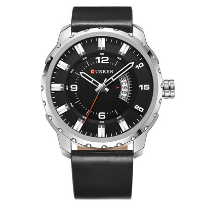 Calendar Display Alloy Quartz Hardlex Men's Watches