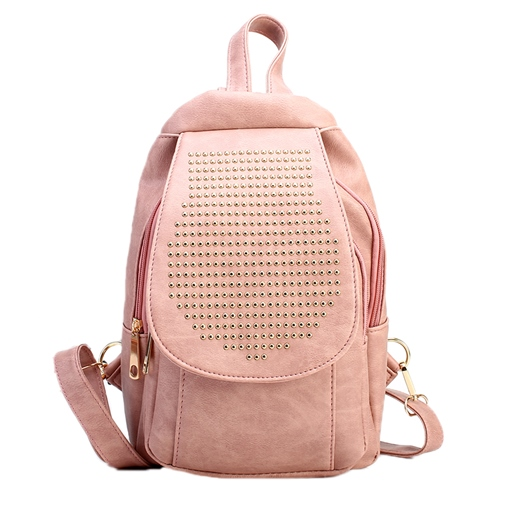 Preppy Chic Rievt Adornment Women Backpack