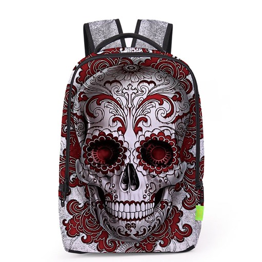 Hip Hop Style 3D Printing Unisex Backpack