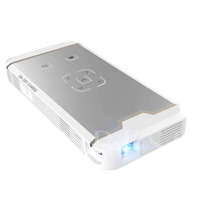 Ultra Portable Home Projector Dual Channel Wifi for iPhone/Android Phones