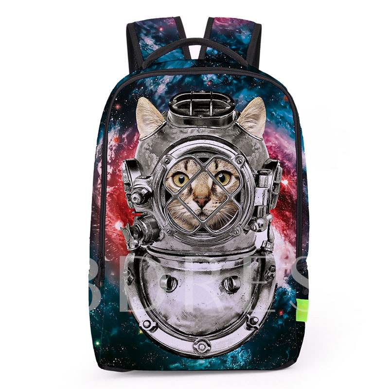 Casual 3D Printing Pattern Unisex Backpack