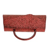 Luxurious Solid Color PU Evening Clutch