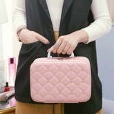 Portable Zipper Women Cosmetic Bag