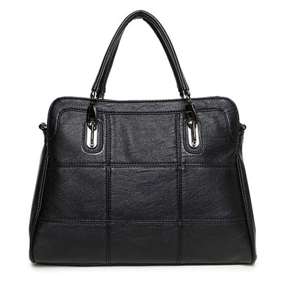 Casual Huge Capacity Zipper Handbag