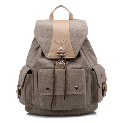 Casual Canvas Unisex Travelling Backpack